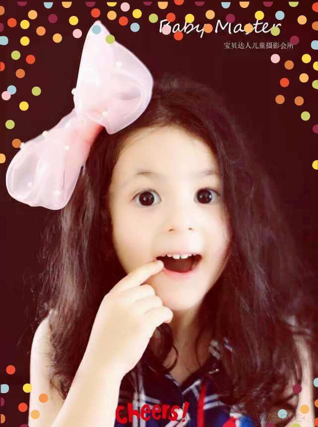 混血平面儿童模特